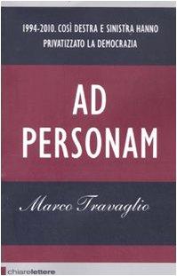 Libro Ad personam