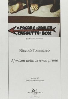 Libro Aforismi della scienza prima