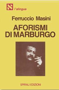 Libro Aforismi di Marburgo
