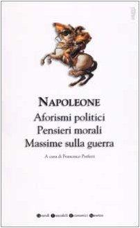 Libro Aforismi e pensieri politici, morali e filosofici