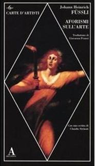 Libro Aforismi sull'arte