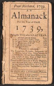 Libro L'almanacco del Povero Richard