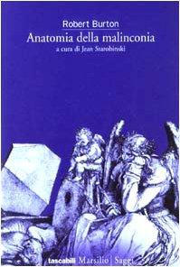 Libro Anatomia della malinconia