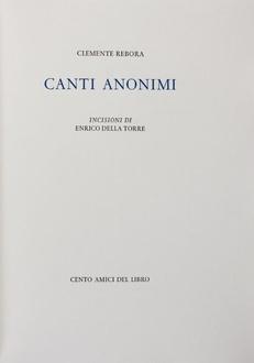 Frasi di Canti anonimi
