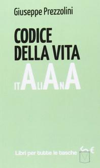 Libro Codice della vita italiana