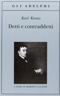 Libro Detti e contraddetti