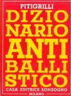 Libro Dizionario antiballistico