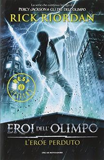 Libro Eroi dell'Olimpo- L'eroe perduto