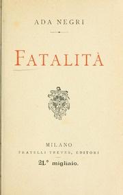 Libro Fatalità