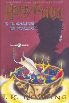 Libro Harry Potter e il Calice di Fuoco