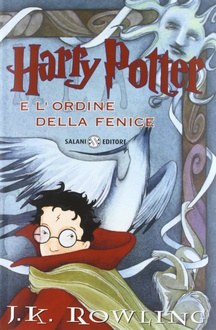 Libro Harry Potter e l'Ordine della Fenice