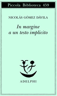 Libro In margine a un testo implicito