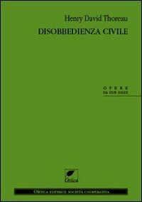 Libro La disobbedienza civile