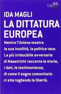 Libro La dittatura europea