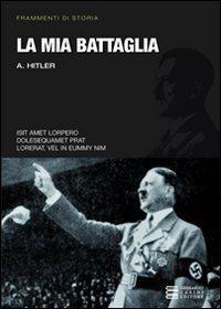 Libro La mia battaglia