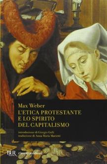 Libro L'etica protestante e lo spirito del capitalismo