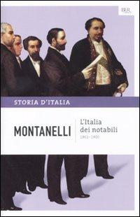 Libro L'Italia dei notabili - 1861-1900