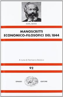 Libro Manoscritti economico-filosofici del 1844