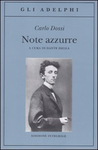 Libro Note azzurre, 1870-1907