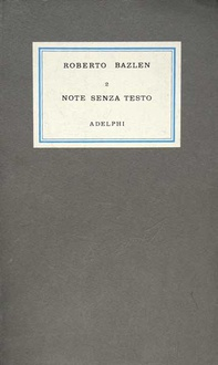 Libro Note senza testo