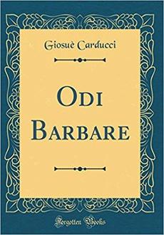 Libro Odi barbare