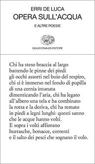 Frasi di Opera sull'acqua e altre poesie