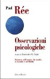 Libro Osservazioni psicologiche