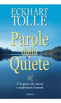 Libro Parole dalla quiete