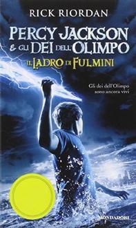 Libro Percy Jackson e gli Dei dell'Olimpo - 1. Il Ladro di Fulmini