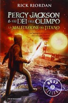 Libro Percy Jackson e gli Dei dell'Olimpo - 3. La maledizione del titano