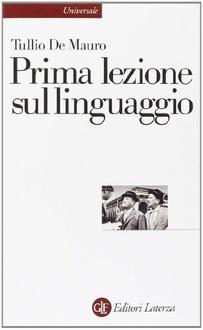 Libro Prima lezione sul linguaggio
