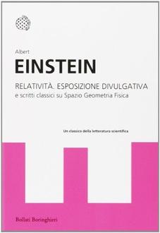 Libro Relatività: esposizione divulgativa