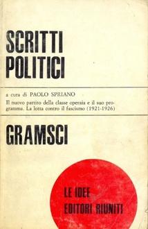 Libro Scritti politici 1910-1926