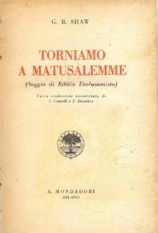 Libro Torniamo a Matusalemme