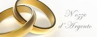 Auguri per le nozze d'argento (venticinquesimo anno)