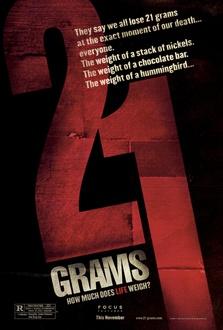 Film 21 grammi - Il peso dell'anima