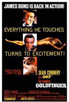 Film Agente 007 - Missione Goldfinger