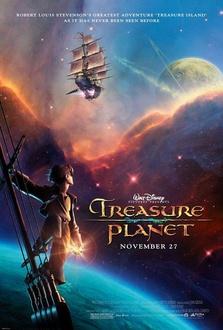 Cartone Il pianeta del tesoro