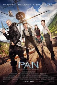 Film Pan - Viaggio sull'isola che non c'è