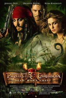 Film Pirati dei Caraibi - La maledizione del forziere fantasma