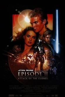 Film Star Wars: Episodio II - L'attacco dei cloni
